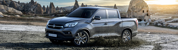 SsangYong Musso Rexton Sports accessories